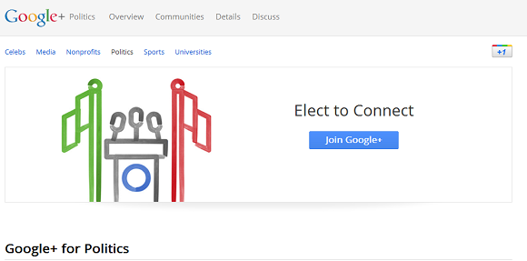 Google+ Publishes Page Building Guide For Politicians