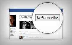 Facebook Subscribe Button