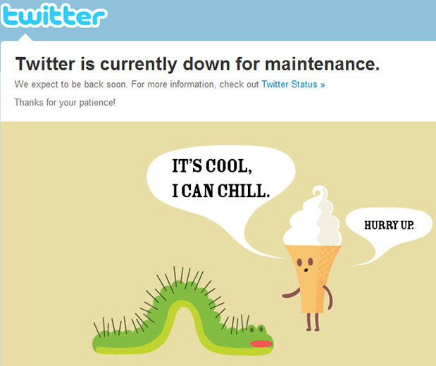 Twitter Faces 90-Minute Outage, Tells Everyone To Chill Out