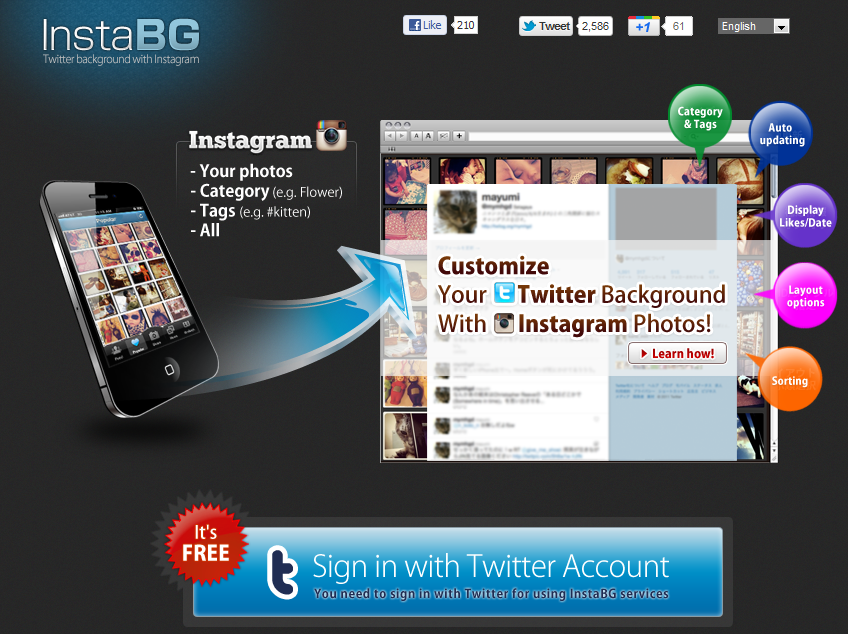 Using InstaBG To Make Your Photography Based Twitter Account Shine