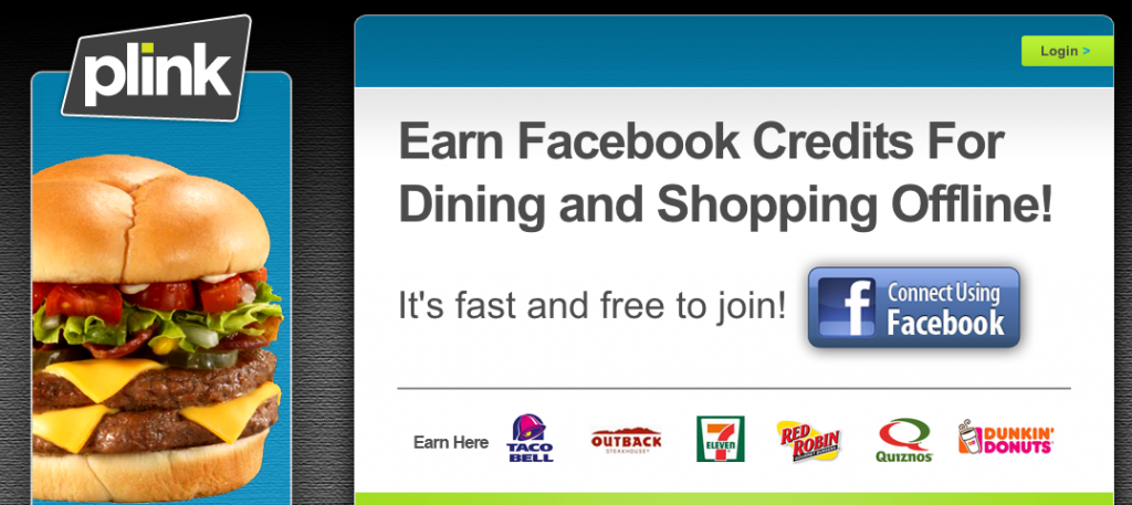 Plink's Facebook Loyalty Program To Be Tested By Major Chain Stores