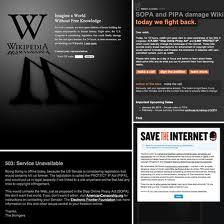 SOPA Wikipedia