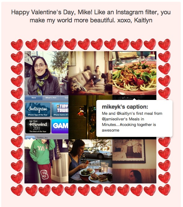 Instagram Co-Founders Girlfriend Announces Lovestagram Application For Valentine's Day