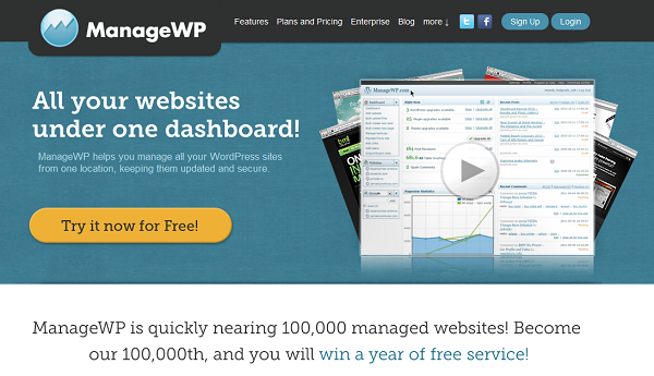 ManageWP Makes Multi-Blog WordPress Management Easy And Affordable