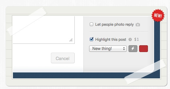 Tumblr Rolls Out 'Highlighted Posts' Feature, Adds $1 Fee