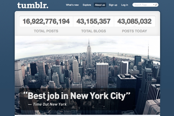 Tumblr Hires Two Veteran Journalists To Write About Tumblr