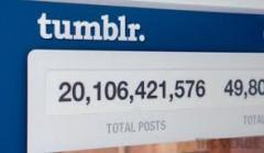 Tumblr 20 Billion Posts