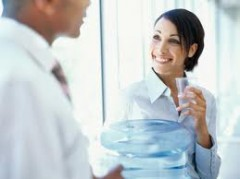 Water Cooler Business Chat