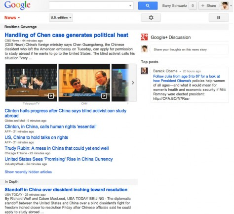 Google News Buddies Up To Google+ With Further Integration