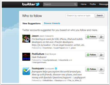 Twitter To Use Browser Data To Offer Follow Recommendations