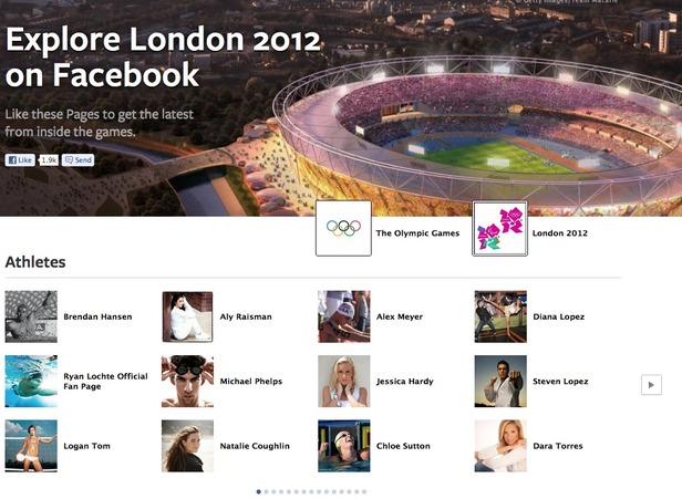"Facebook Launches ""Explore London 2012"" Platform Just In Time For Summer Olympics"