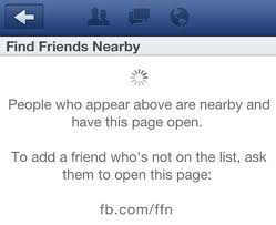 "Facebook Pulls ""Find Friends Nearby"" Program Following Lawsuit Threat"