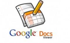 Google Docs Viewer