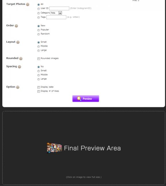 Insta-WP Setup Screen 2