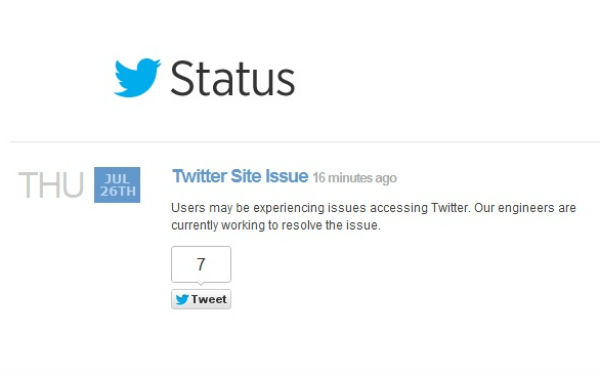 Twitter Goes Down For Everyone, Fail Whale Emerges From The Rubble