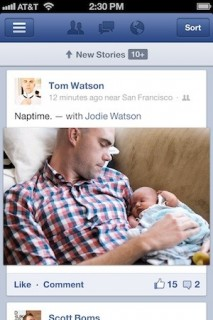 Facebook iOS App Twice As Fast