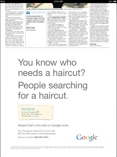 Google Buys Newspaper Ad That Attacks Newspaper Ads