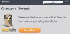 HootSuite Buys Seesmic