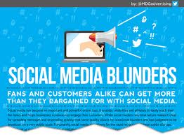 Social Media's Biggest Blunders [Infographic]