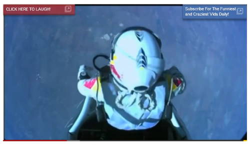 YouTube Records Broken As Felix Baumgartner Breaks Skydiving Record
