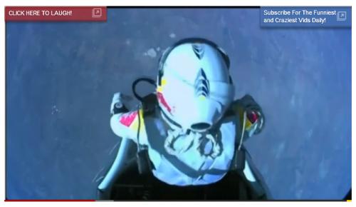 YouTube Records Broken As Felix Baumgartner Breaks Skydiving Record