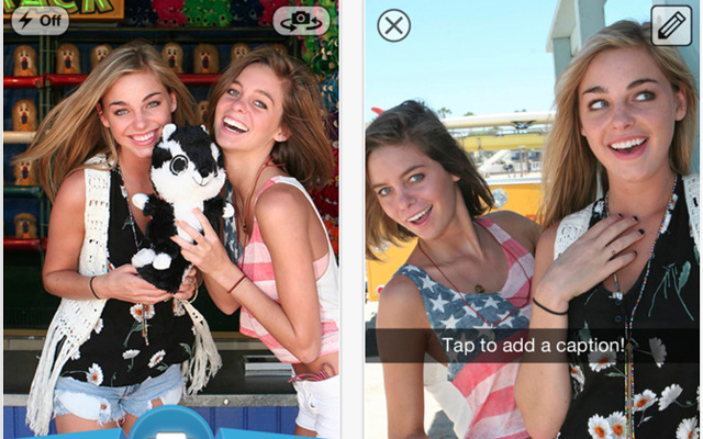Snapchat Photo Sharing App Arrives for Google Android