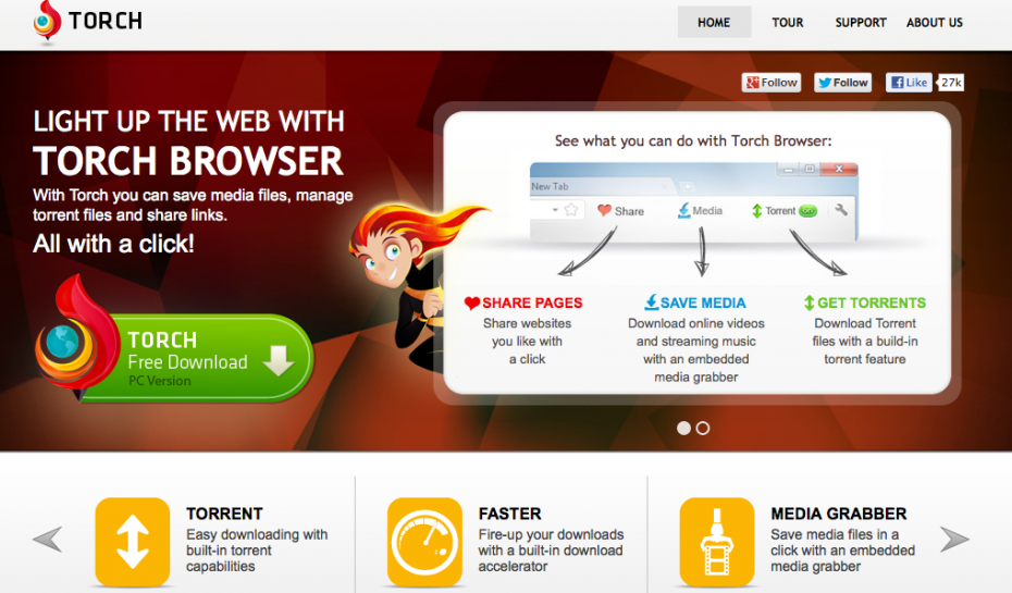 Torch Browser Delivers Social Media Sharing With A Healthy Dash Of Multimedia Control