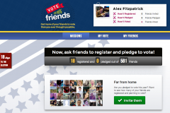 Vote With Friends Facbook App