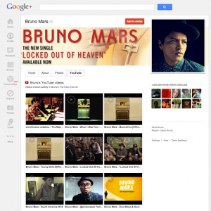 Google Plus and Youtube