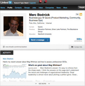 Quora Adds LinkedIn Sharing, Helps Professionals Boost Their Credibility