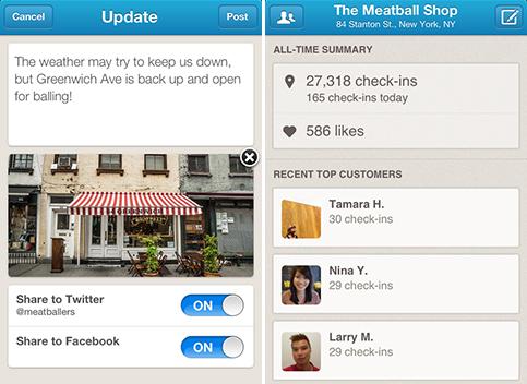 Foursquare for Businesses