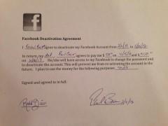 Facebook Contract