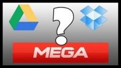 Dropbox Mega Google Drive