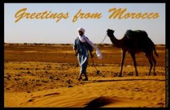 Postcard and social media