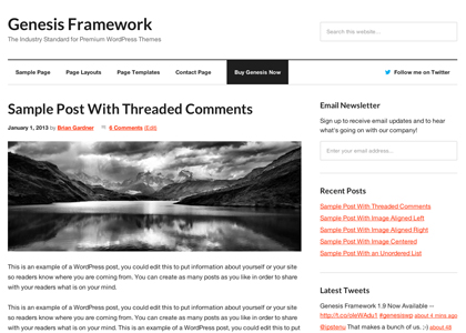 Improve Your WordPress Web Design With A Framework Theme