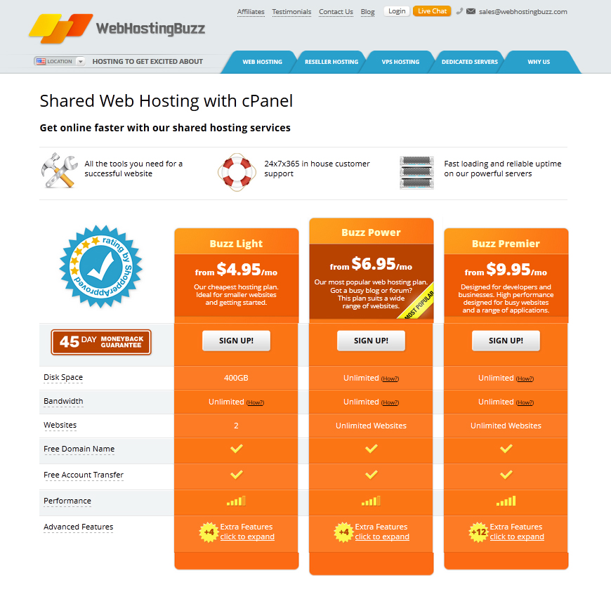 WIN Web Hosting for 1 Year From WebHostingBuzz!