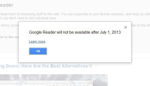 Six Awesome Google Reader Alternatives