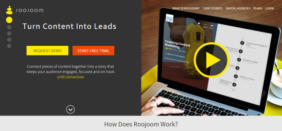 Roojoom   Turn Content Into Leads
