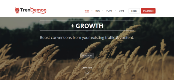 TrenDemon   Automatically Boost Revenue from Your Content
