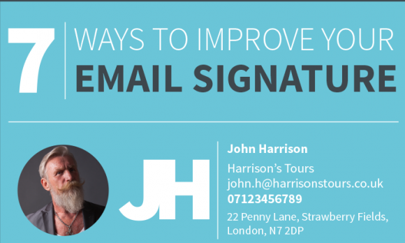 Create the Perfect Email Signature With This Cheat Sheet