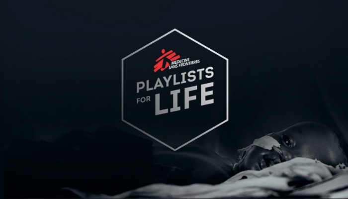 #PlaylistsForLife: Doctors Without Borders Launches Awareness Campaign Using Music