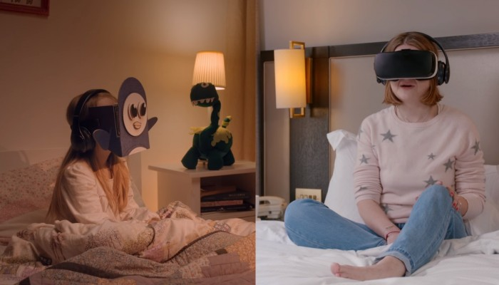 Samsung Utilizes Virtual Reality Stories For Children's Bedtimes