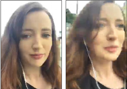 Blogger Mugged While Live-streaming Her Morning Commute