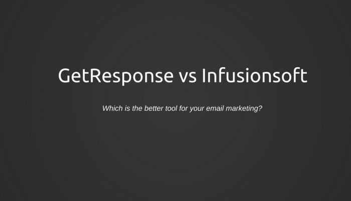 GetResponse Vs Infusionsoft