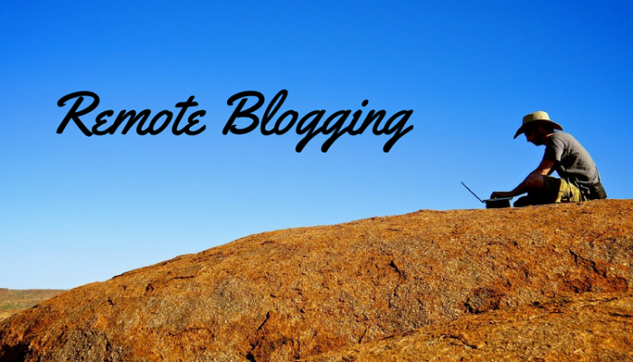 4 Remote Working Benefits Bloggers Enjoy