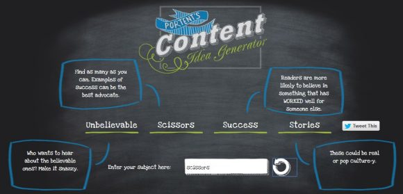 How to write compelling blog content for boring niches for Portent title maker