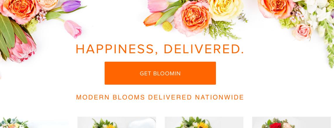 A Better Florist website