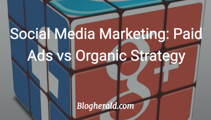 Social Media Marketing: Paid Ads vs Organic Strategy