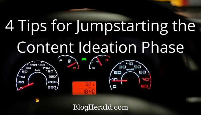 4 Tips for Jumpstarting the Content Ideation Phase