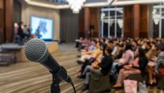 grow your blog audience by speaking at conferences